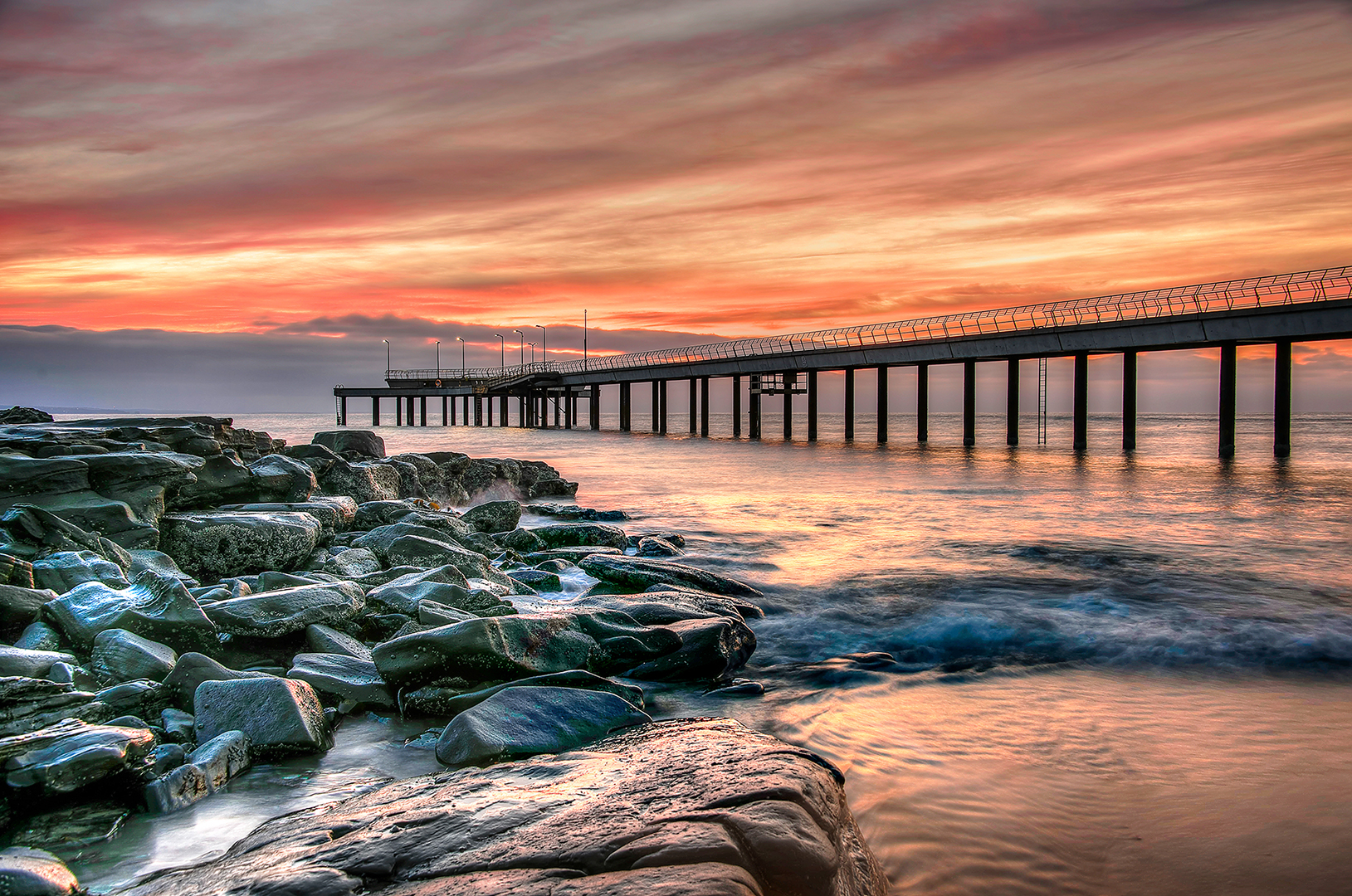 Lorne Pier at Sunrise